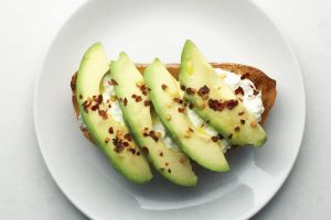 Avo & Cottage Cheese on Sourdough
